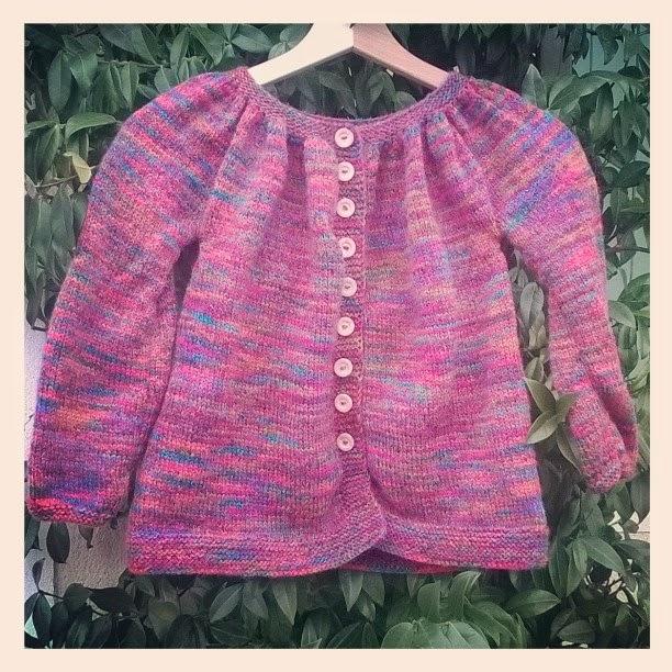 Kina arlequin tricoté